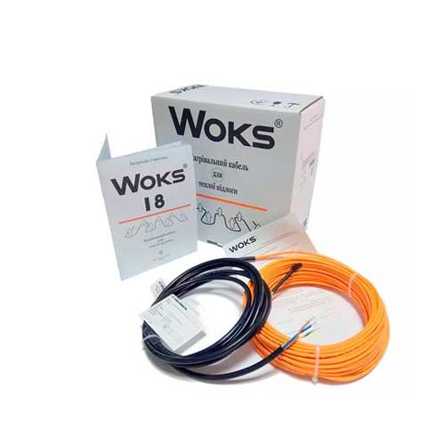 кабель Woks 18 для теплого пола
