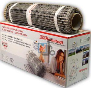 Нагревательный мат Hemstedt. Электрический теплый пол под плитку.