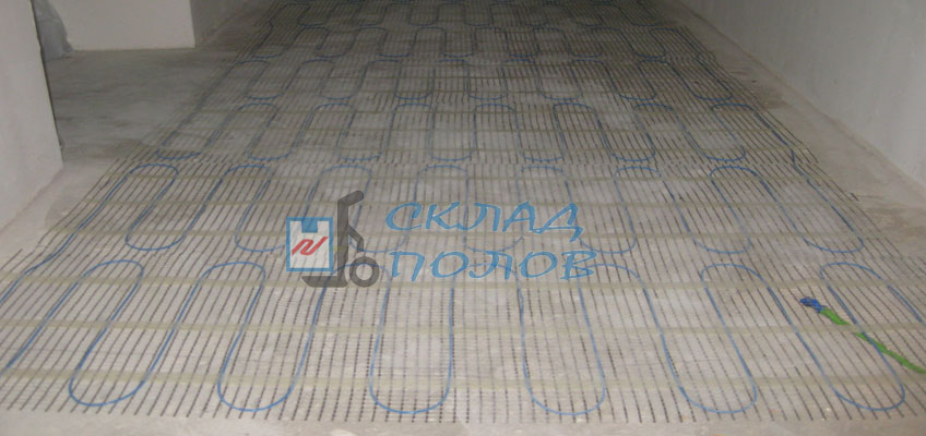Установка Nexans Millimat в коридоре