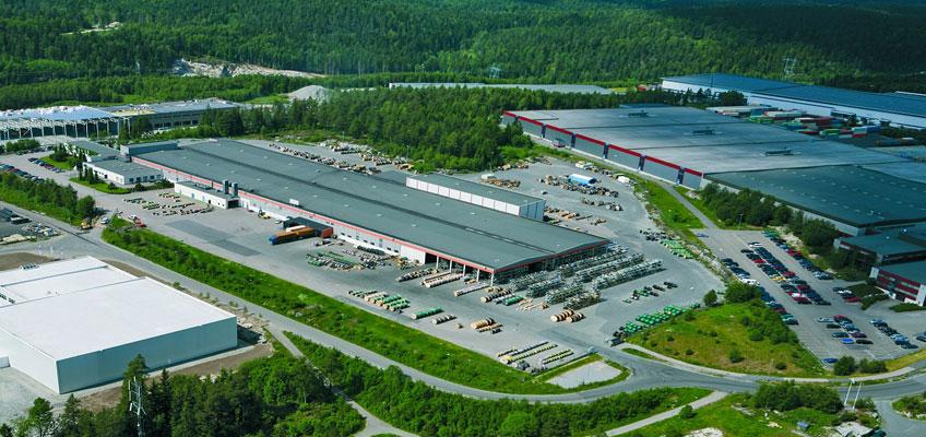 Завод Nexans в г. Лангус (Норвегия)