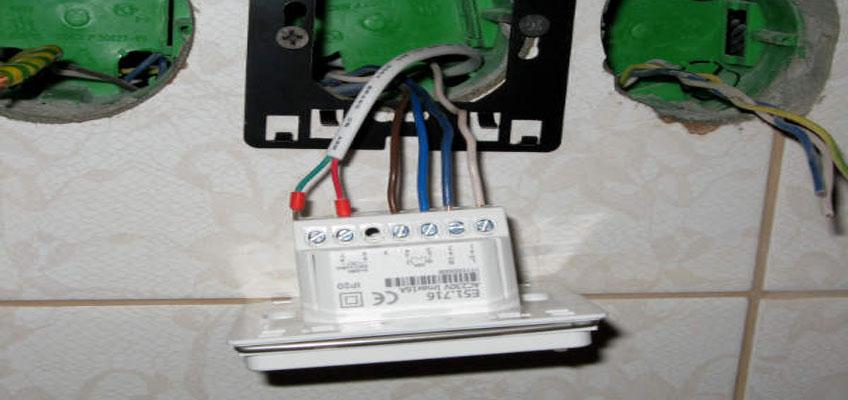 Как подключить теплый пол. Подключение и установка терморегулятора для теплого пола E51 на объекте.