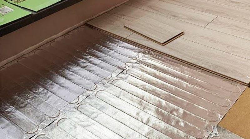 алюминиевый мат под ламинат