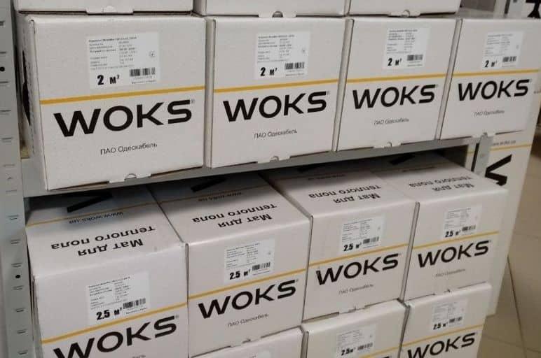 маты Woks160 в коробках на складе Skladpolov